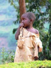 Village Child in Uganda