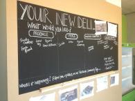 Greenhouse blackboard