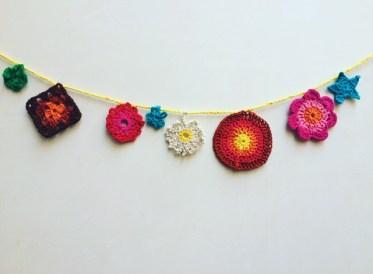 Crochet Bunting1