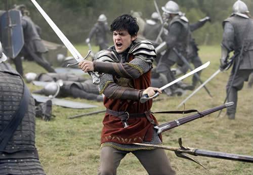 King Edmund on a fight
