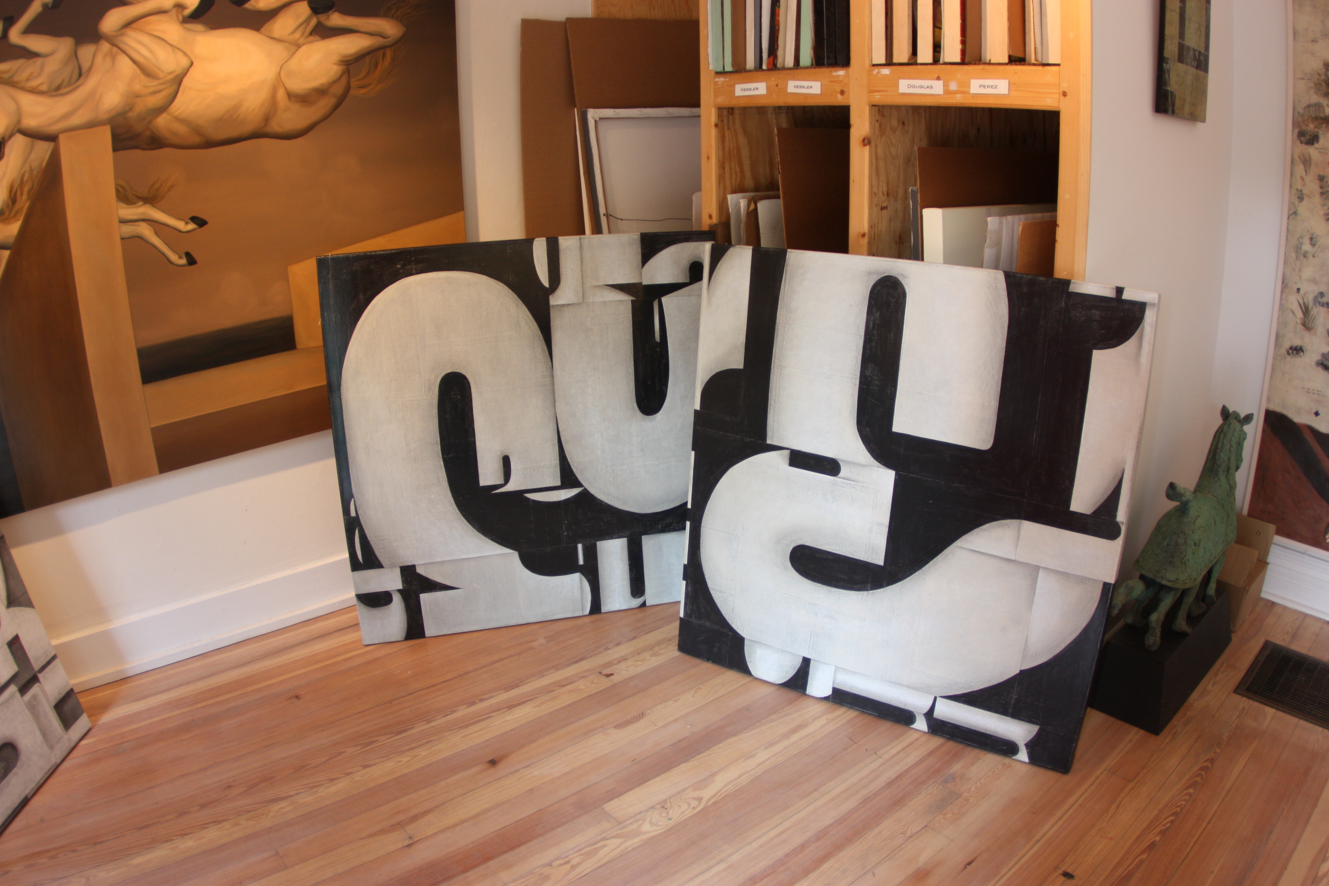 new inventory by Cecil Touchon at Nuart Gallery in Santa Fe, New Mexico
