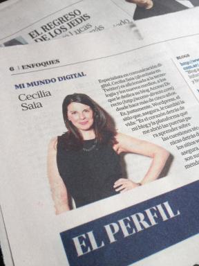 La Nación - Columna Mi Mundo Digital