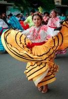Dancer from Ejutla de Crespo in the 2007 Guelaguetza
