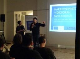 MEDIA predavanje: narativni pristop v videoigrah, Foto: Matevž Luzar & CED Slovenia