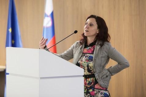 Bjanka Kršmanc, Pionirski dom; Foto: Katja Goljat