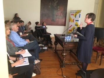 IETM Porto Plenary Meeting 2018 – Creative Europe Showcase: Maria Fleming (IE).