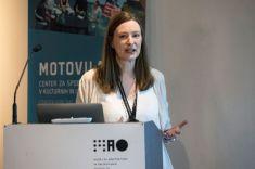"Julie Aldridge. Onkraj kulturnega modela/ Beyond the Cultural Model"" conference (Ljubljana, 16/10/2018). Foto: Katja Goljat."