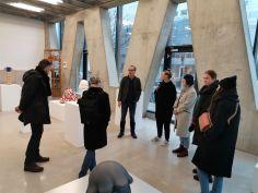 Motovila v Galerie VIVID: študisjki obisk na Nizozemskem, januar 2020.