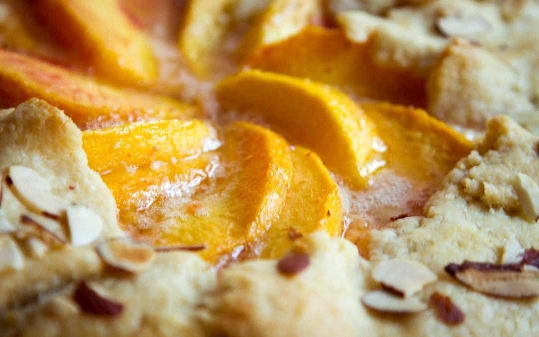Peach-Almond Galette