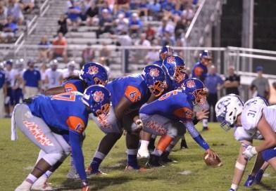 Cedar Defense Shines as Jaguars Defeat Oconee County 14-0