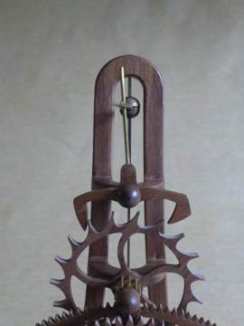 Cedar Clocks - Kinetic Sculptural Clocks