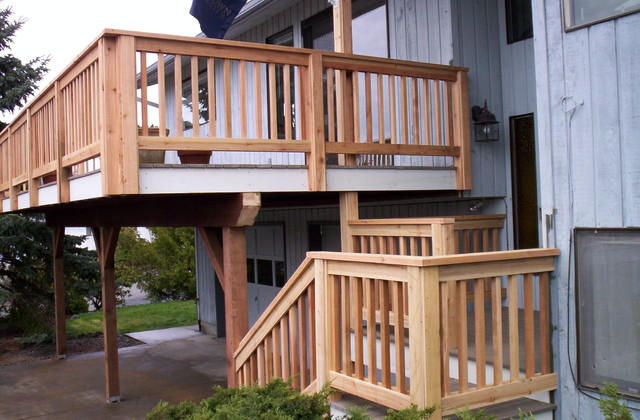 how to prep to stain western red cedar