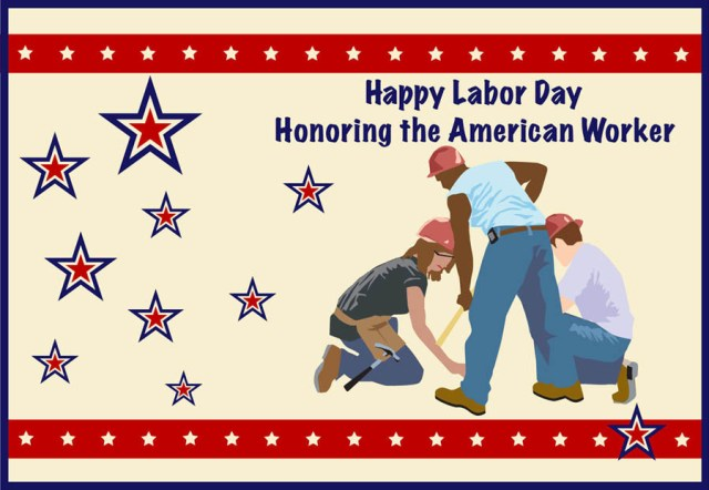 american worker labor day
