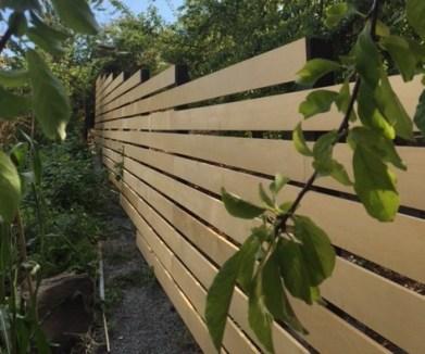 Alaskan Yellow Cedar Boards used for fencing