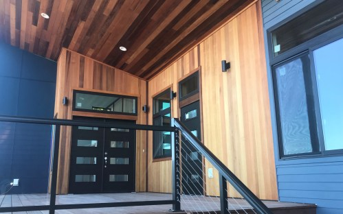 clear engineered western red cedar t&g