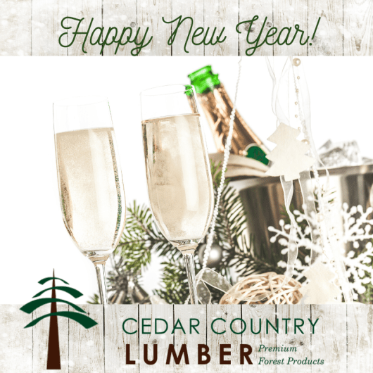 Cedar Country Lumber of Burligton, WA is a supplier of high quality Cedar products nationwide. 2020 New Year's eve and New Year's Day hours.