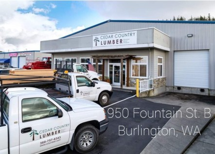 Cedar Country Lumber delivers