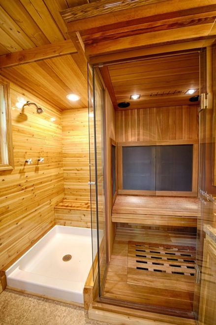 Western Red Cedar is a great choice for high humidity areas, such as bathrooms