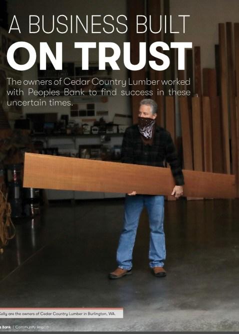 Tom Kelly of Cedar Country Lumber