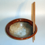 Dave Eitel's Stir Fry Bowl with Chopsticks in Ginger/Butter