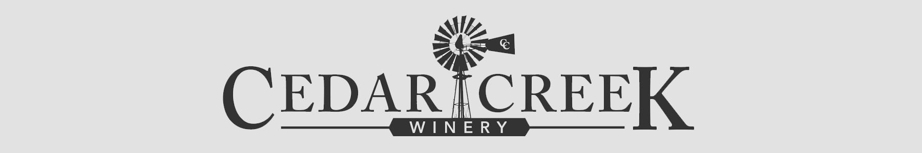 Cedar Creek Winery, Martinsville, IN 46151 Logo