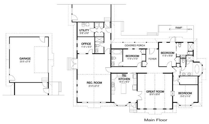 Deer Valley Architectural Family Cedar Home Plans