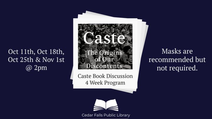 Advertisement image for Caste bookclub