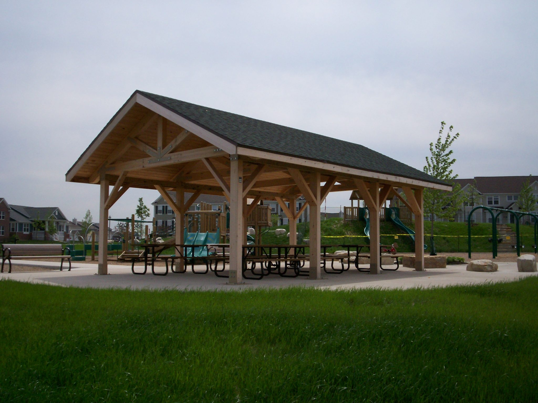 Open Timber Truss Cedar Forest Products