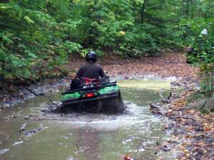 ATV trails in our area are fun, and don't require passes.
