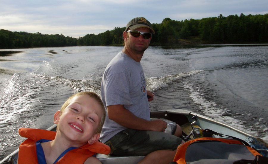 Enjoy boating and other activities at Cedar Grove Camp