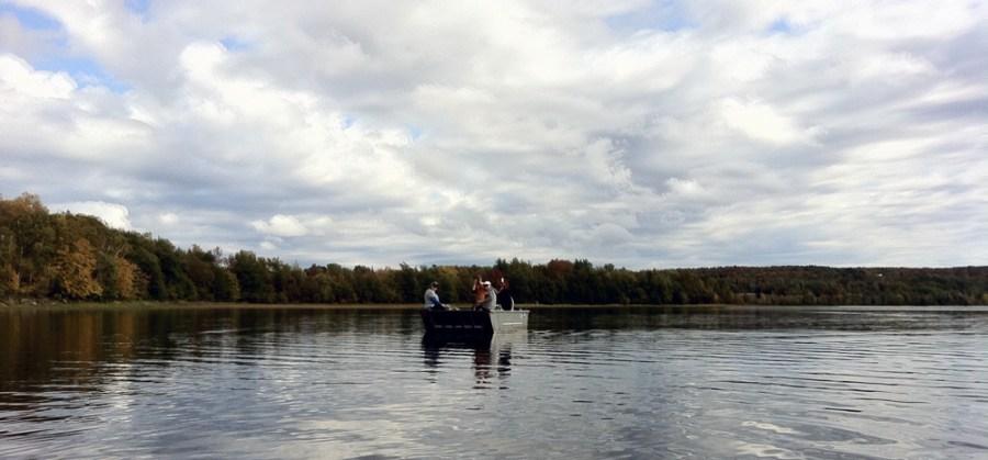 Enjoy a day trip boating at Cedar Grove Camp