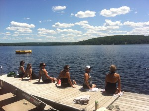 women's weekend on dock