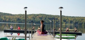 yoga, women's weekend, cottage country