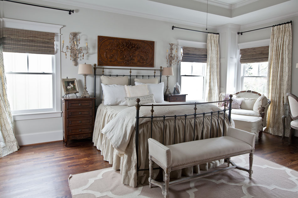 Cedar Heights Tour - Cedar Hill Farmhouse on Farmhouse Bedroom Curtain Ideas  id=15388