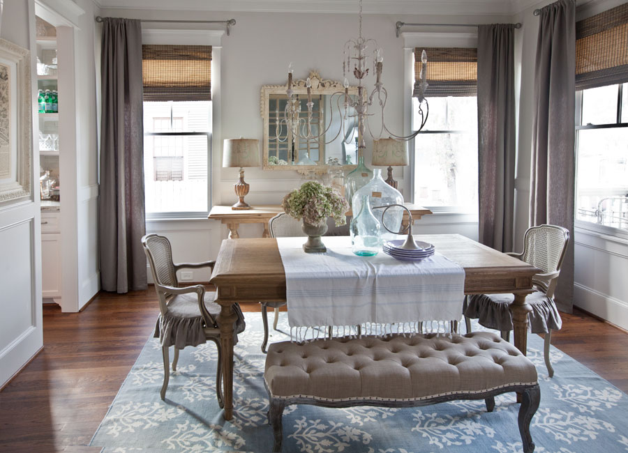 New Curtains for the Dining Room - Cedar Hill Farmhouse on Farmhouse Dining Room Curtains  id=63267