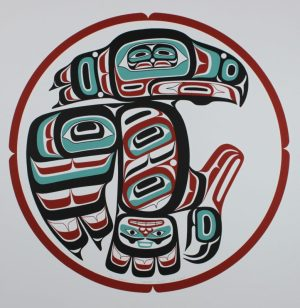 Ganhada Raven, Alvin Child, Raven, Native Art Print, Indigenous Art, Northwest Coast Art, First Nations Art, Native American Art