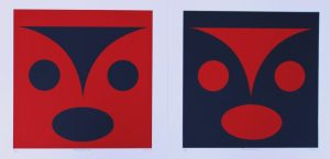 Transformline, lessLIE, Native Art, Limited Edition Screen Print, Serigraph