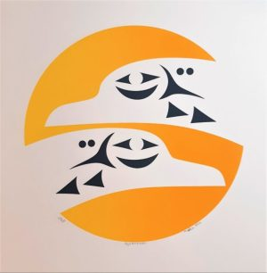 Rejuvenation, Margaret August, Native Art, Limited Edition Screen Print, Serigraph