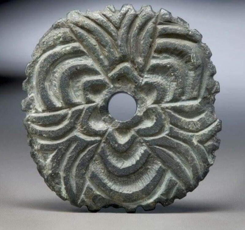 Coast Salish Spindle Whorl made from stone
