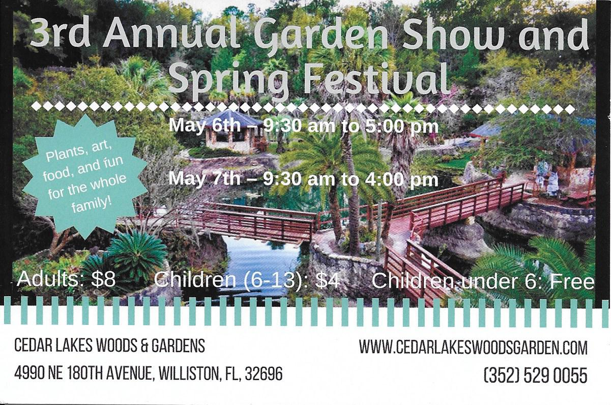 APR 23 Cedar Lakes Show