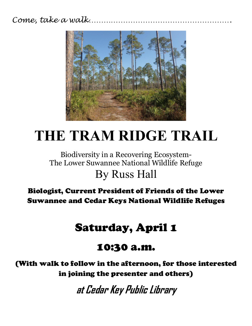 MAR 31 FOL RUSS Program Tram Trail poster