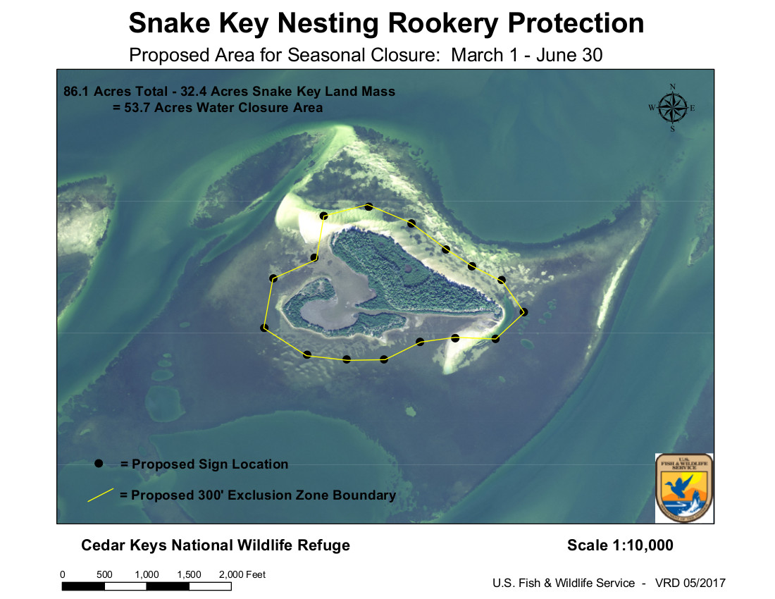 JAN 10 USFWS Proposed Snake Key Rookery Closure