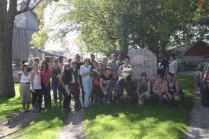 Work Visit/Vegan Potluck @ Cedar Row Farm Sanctuary | Lakeside | Ontario | Canada