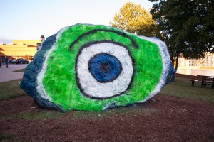 The Rock for ALT Night Monsters University. (Photo: Jillian Philyaw)