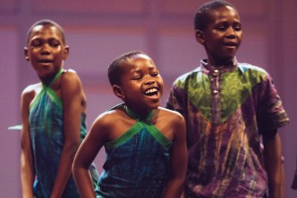 Over the past twenty years, the African Children's Choir has appeared in thousands of concerts around the world, including shows at the Pentagon and the United Nations. (Photo: Jillian Philyaw)