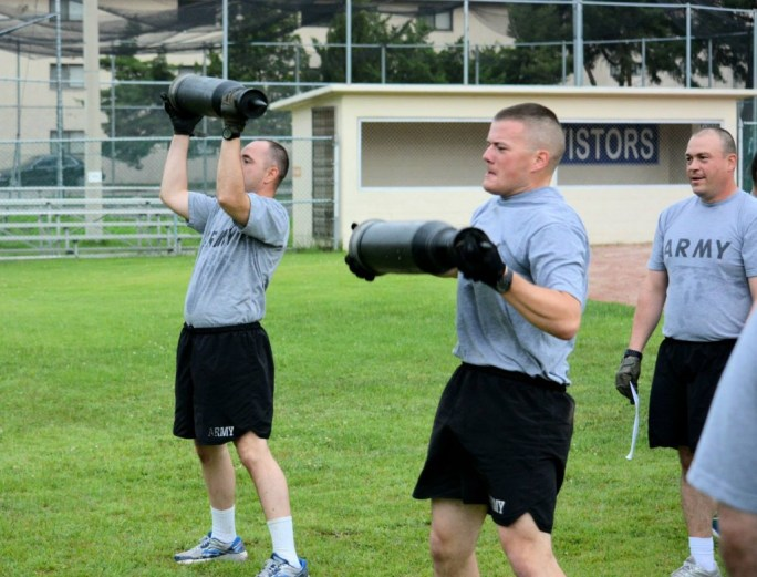 Army ROTC cadets participated in training programs this summer. (Photo provided by Cedarville ROTC)