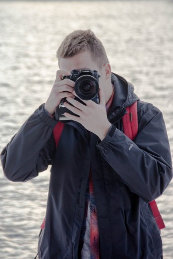 Justin Eisner chose photography as his creative outlet in high school because he couldn't draw or paint well. Photography then led him to videography. Photo: Kyria Luxon