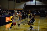 Kaitlyn Holm drives hard past Ohio Christian's defense (Photo: Allyson Weislogel).