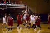 Breanne Watterworth goes up for the tip-off (Photo: Allyson Weislogel).