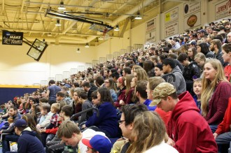 Hundreds of students and their siblings came to the opening ceremonies of ALT night, which revolved around the Olympics.